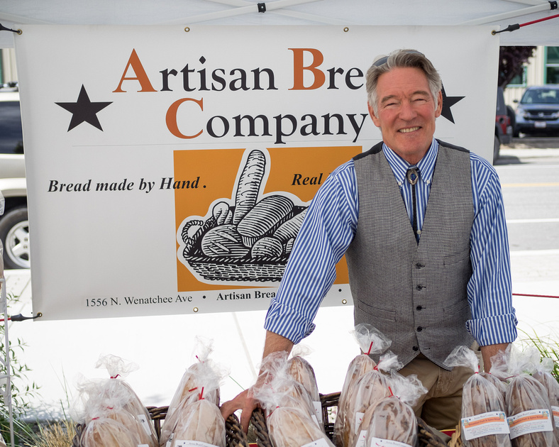 Artisan Bread Company at Wenatchee Valley Farmers Market