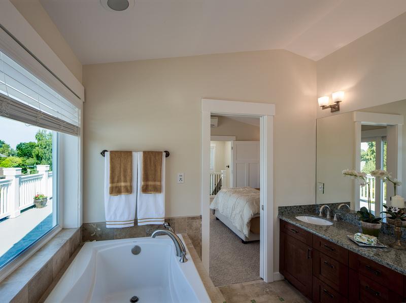 Queen Anne Home Master Bath